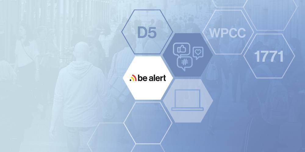 Be-Alert, 1771, WPCC, D5, soziale Medien